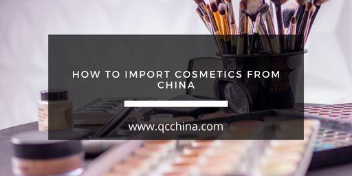 How to import cosmetics from China - blog