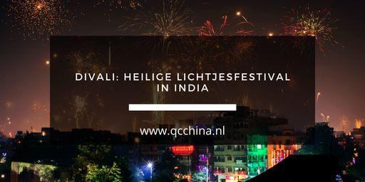 Divali: heilige lichtjesfestival in India blog